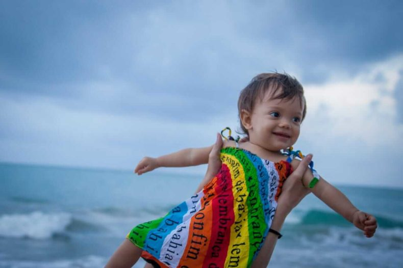 What precautions for bringing a baby to the beach for the first time