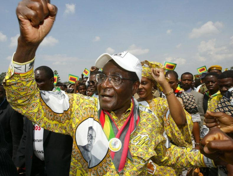 Liberation leader Robert Mugabe