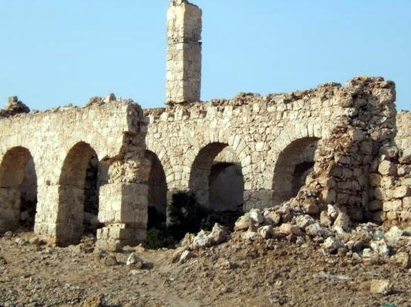 Ruins from the Adal Sultanate, in Zeila at that time in Somalia