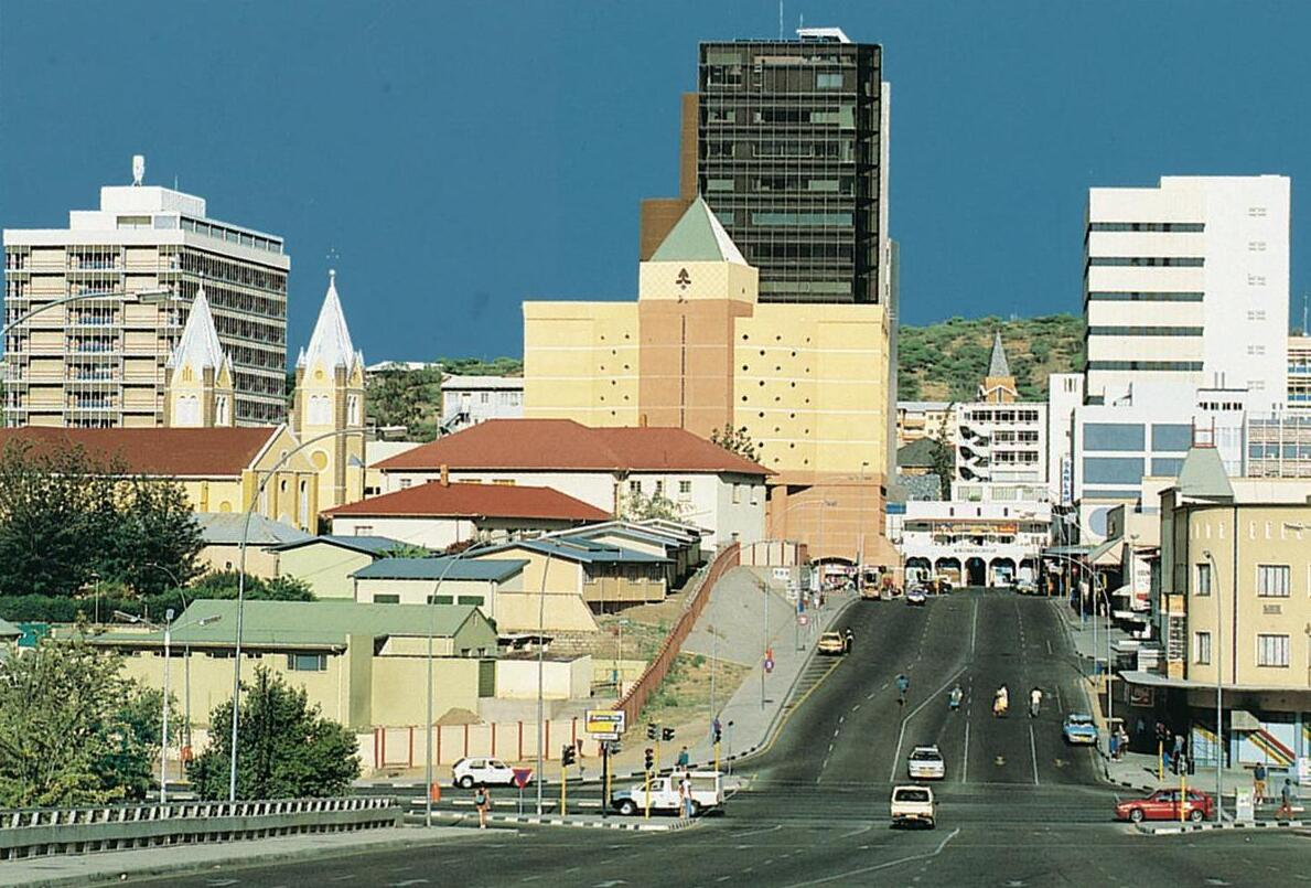 From the center of the capital Windhoek