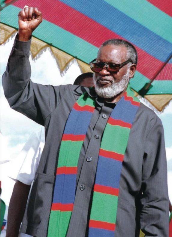 SWAPO leader Sam Nujoma