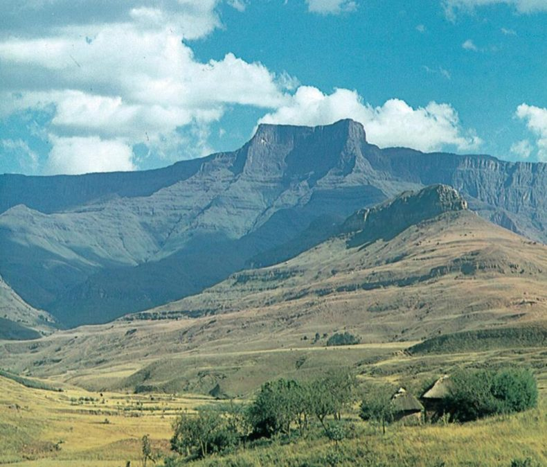 The interior of South Africa