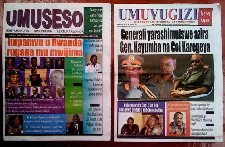 Rwanda freedom of the press