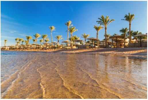 Seaside resorts and beaches in Egypt