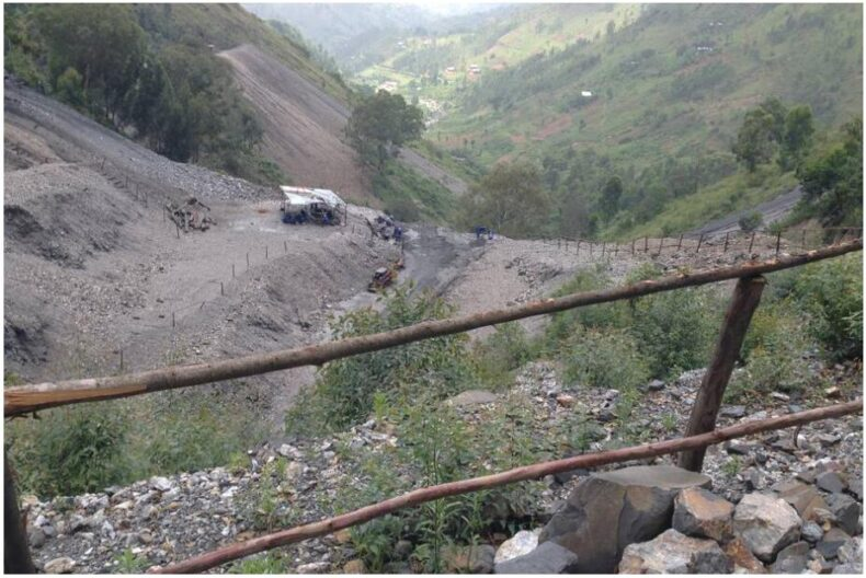 Tin mining in Rutongo near Kigali Rwanda