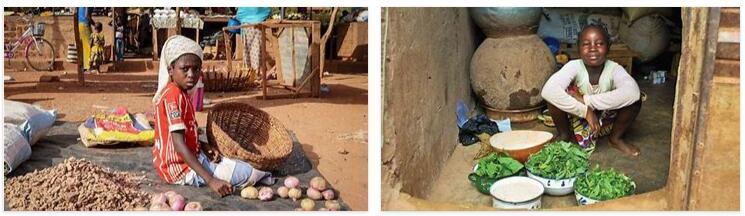 Eating in Burkina Faso