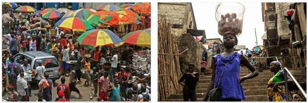 Everyday life in Sierra Leone